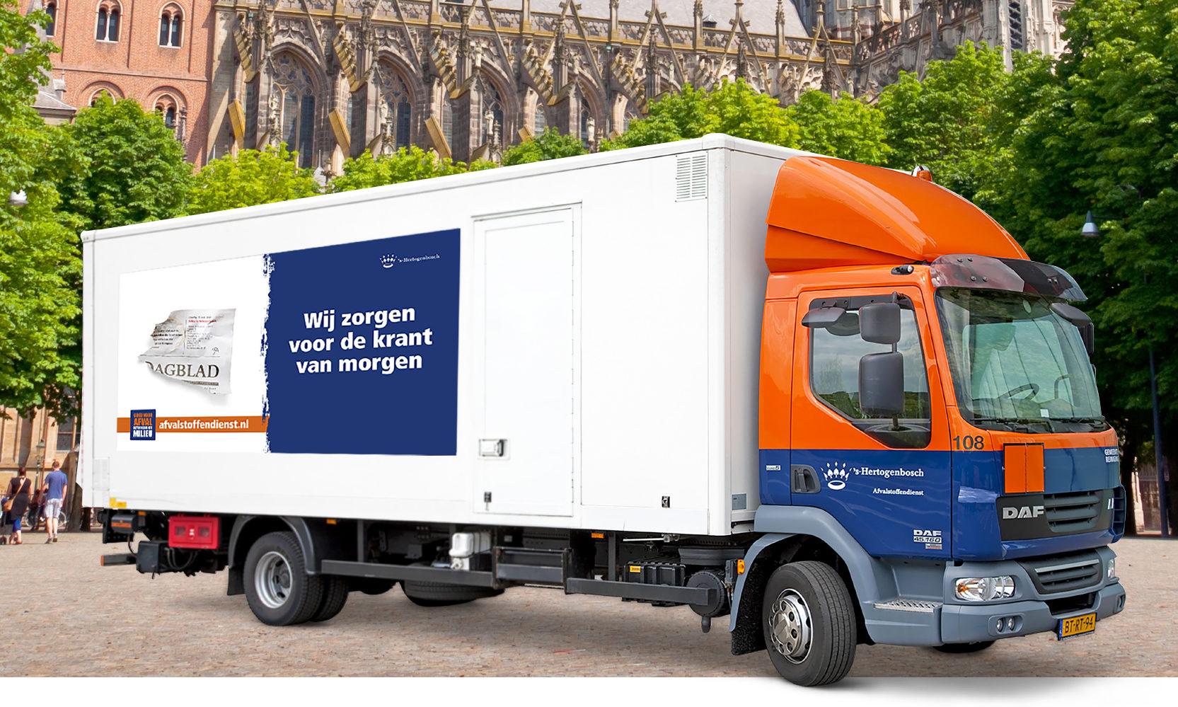 Afvalstoffendienst laat recycling zien