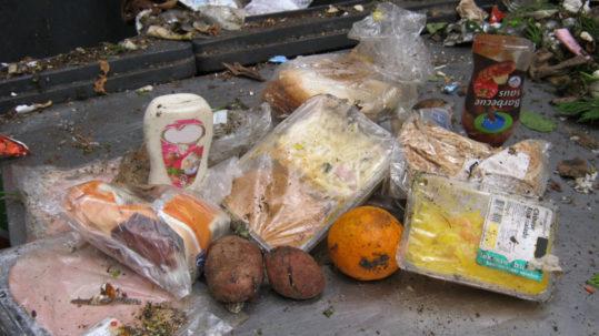 voedsel in restafval