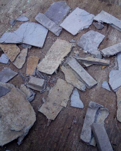 Asbest in restafval
